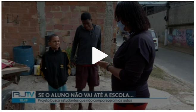 Contra a evasão escolar, Prefeitura do Rio busca em casa alunos que sumiram do colégio
