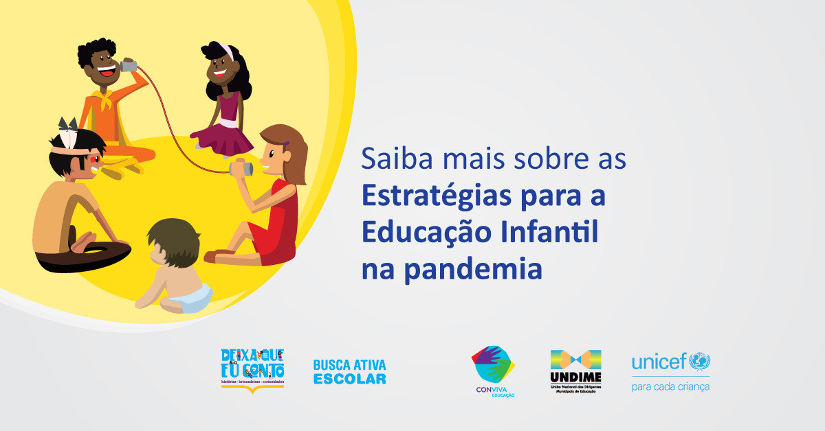 Assista na íntegra a videoconferência Estratégias para a Educação Infantil na Pandemia