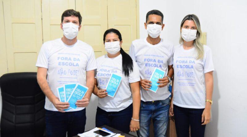 Município de Telha adere à campanha Busca Ativa Escolar