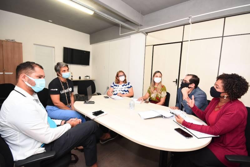 Semed e Unicef renovam parceria no combate à evasão escolar em São Luís
