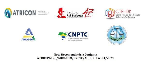Entidades representativas dos TCs divulgam nota recomendando adoção de medidas na área da educação